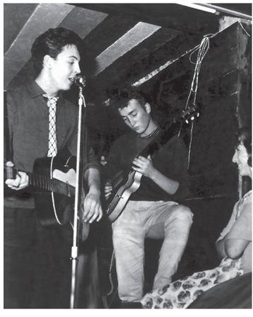This Fascinating 1959 Picture Shows Paul And John As Teenagers Performing Together At The Casbah A Youth Club Set Up By Liverpool Housewife Mona Best In