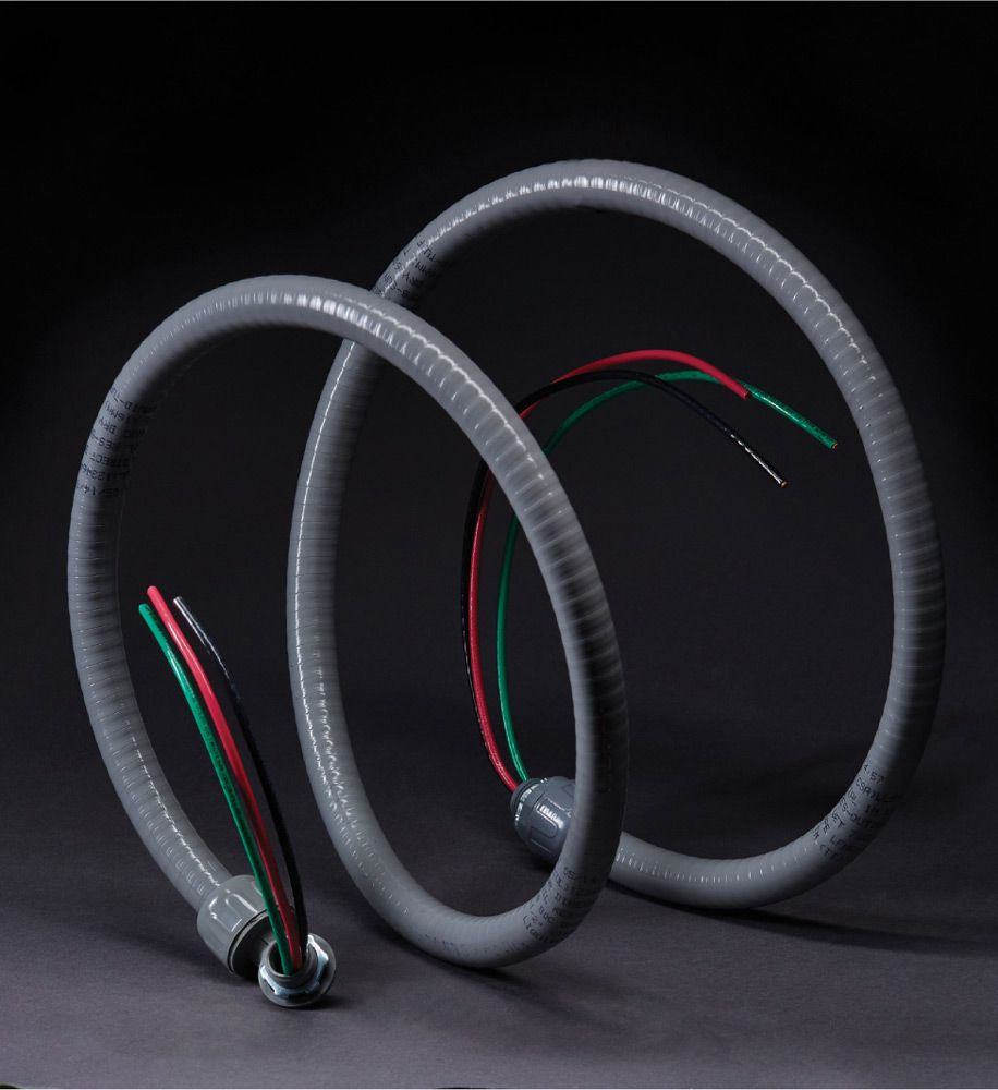 Wire Cable Conduit The Complete Guide To Wiring Black Steel Liquid Tight Flexible Lfc Is Used In Outdoor Applications Especially Around Pools And Water Features At Irrigation Controllers