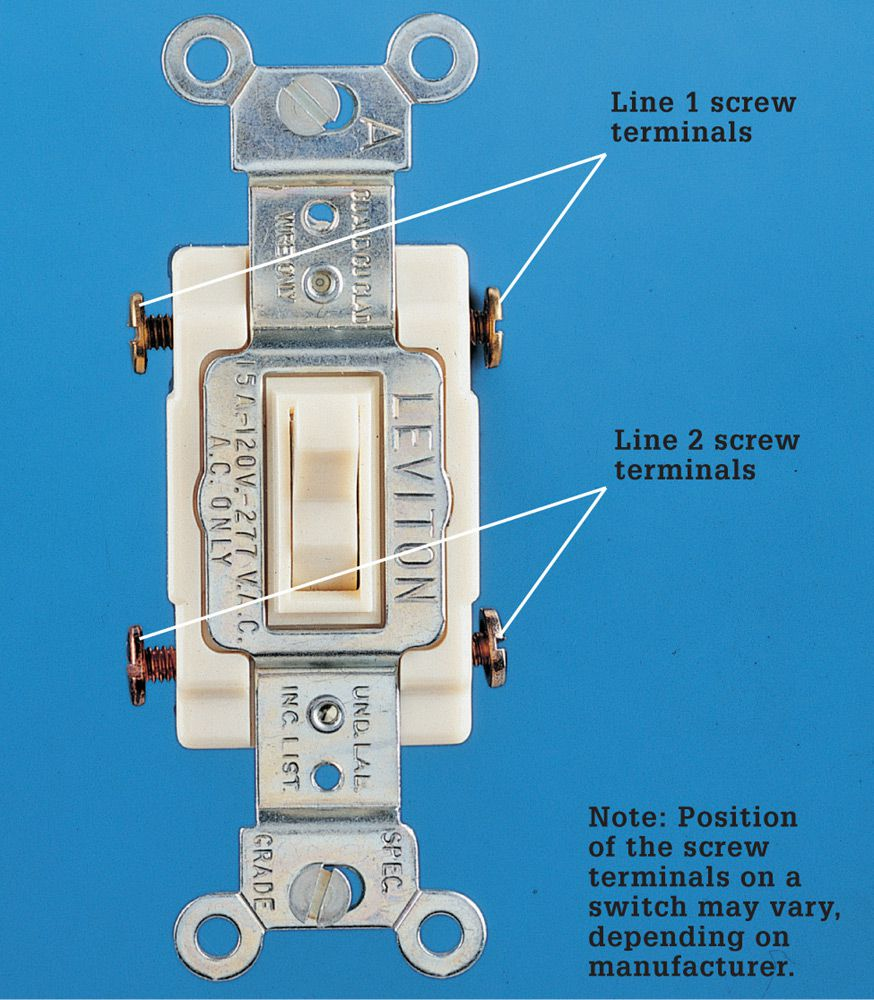 Diagram Switch On Two Basic Four Way Switch Wiring Methods Option