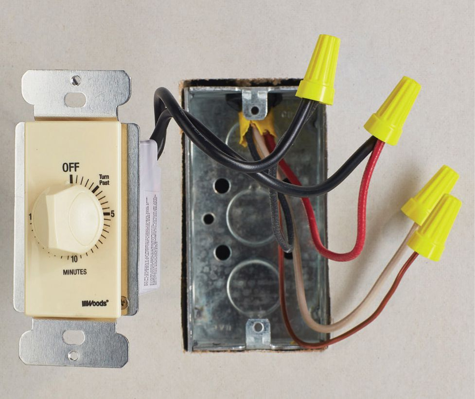 Switches The Complete Guide To Wiring Black Decker Cool Electrical Timer Switch Spring Wound A Relatively Simple Device This Functions Exactly Like Kitchen Employing Hand Turned Dial And