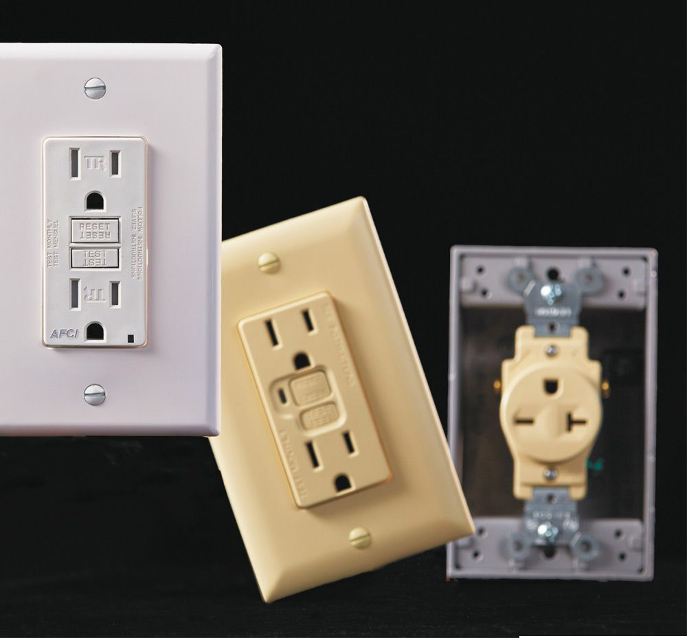 Receptacles The Complete Guide To Wiring Black Decker Cool Whether You Call Them Outlets Plug Ins Or These Important Devices Represent Point Where Rubber Meets Road In Your Home