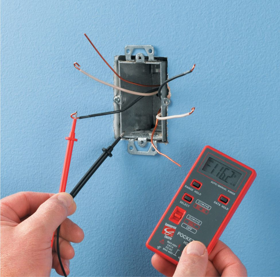 Receptacles The Complete Guide To Wiring Black Decker Cool Electrical Of Outlets Option When A Receptacle Or Switch Is In Middle Circuit It Difficult Tell Which Wires Are Carrying Current Use Multimeter Check
