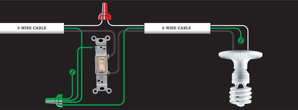 Wiring Diagram Switch At End Of Run