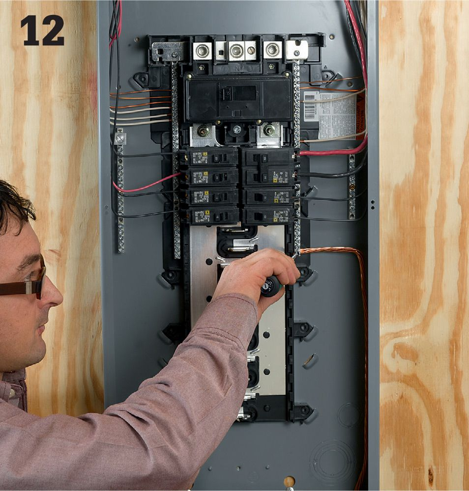 Common Wiring Projects The Complete Guide To Black Electrical And Circuit Breakers Electrician Image