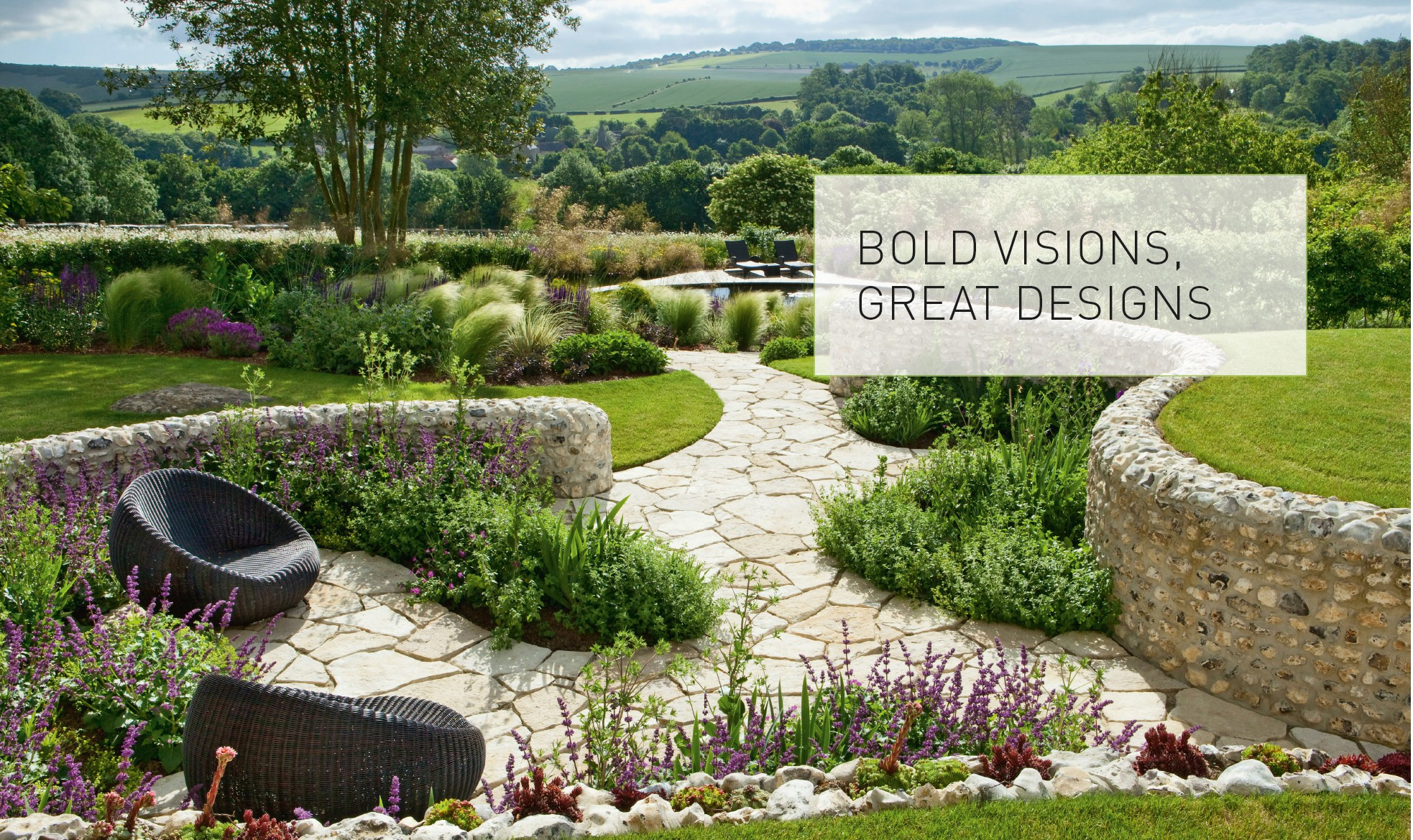 Urban chic - BOLD VISIONS, GREAT DESIGNS - Garden Design (2015) on