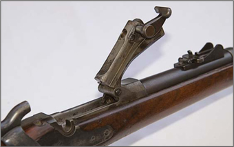 SPRINGFIELD</strong><br /><strong>1873 TRAPDOOR CARBINE - 50