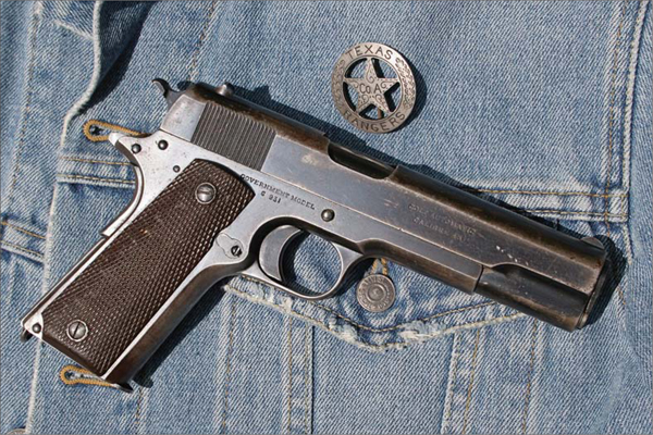 COLT 1911 - 50 Famous Firearms You've Got to Own: Rick Hacker's
