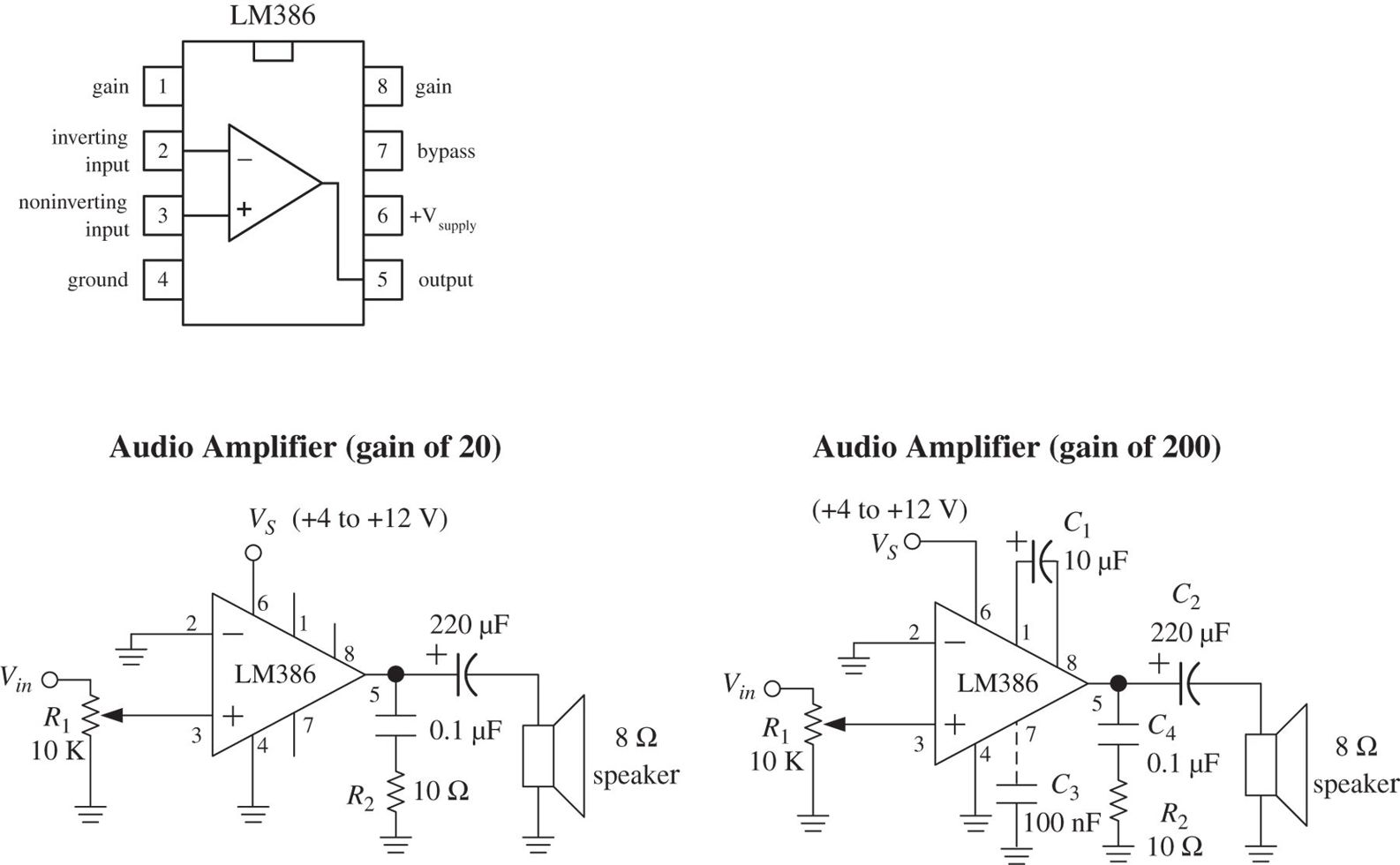 Audio Electronics Practical For Inventors Fourth Low Noise Mic Preamp Using Ne5534 Ic Circuit Diagram Img