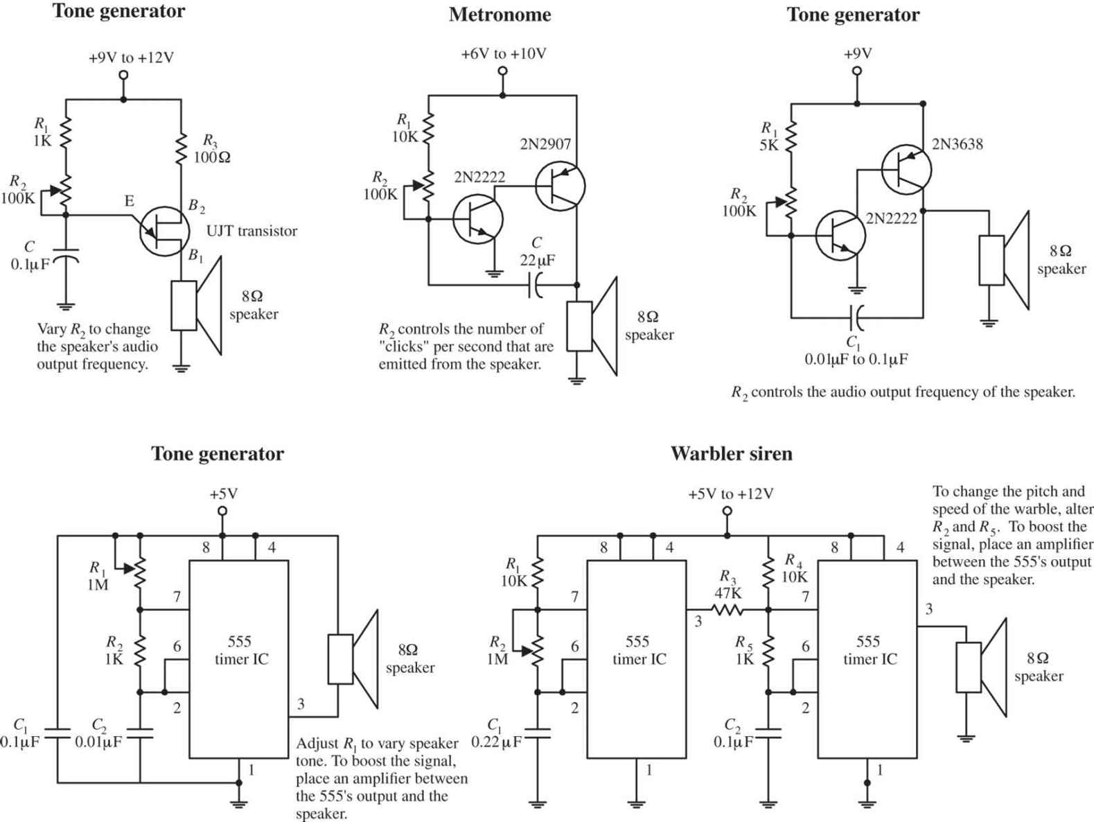 Audio Electronics Practical For Inventors Fourth Active Microphone Preamplifier Using Lf356 Img