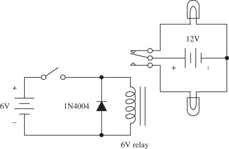 basic electronic circuit components