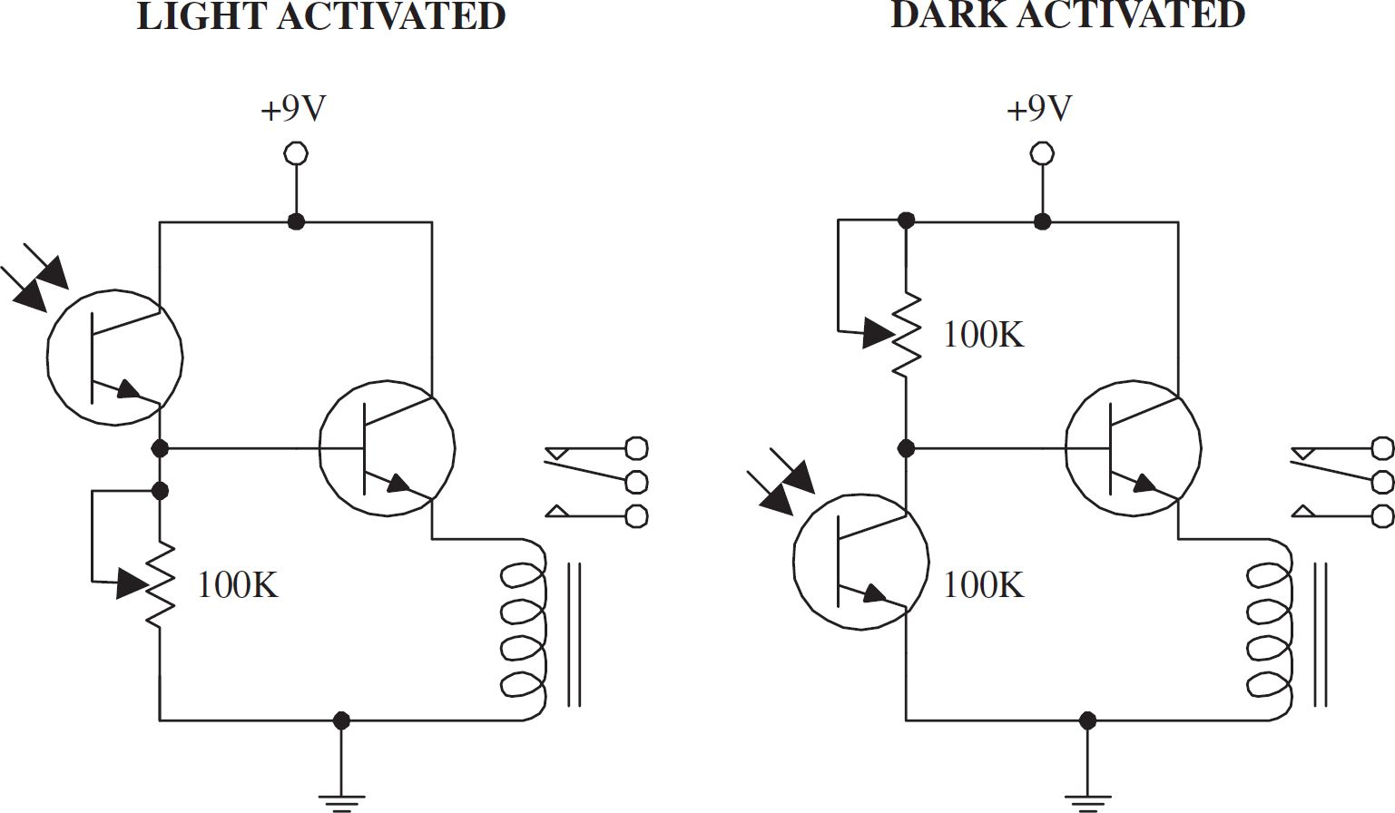 Light Activated Scr Applications Shelly Lighting Lascrlight Electronic Circuits And Diagram Relay