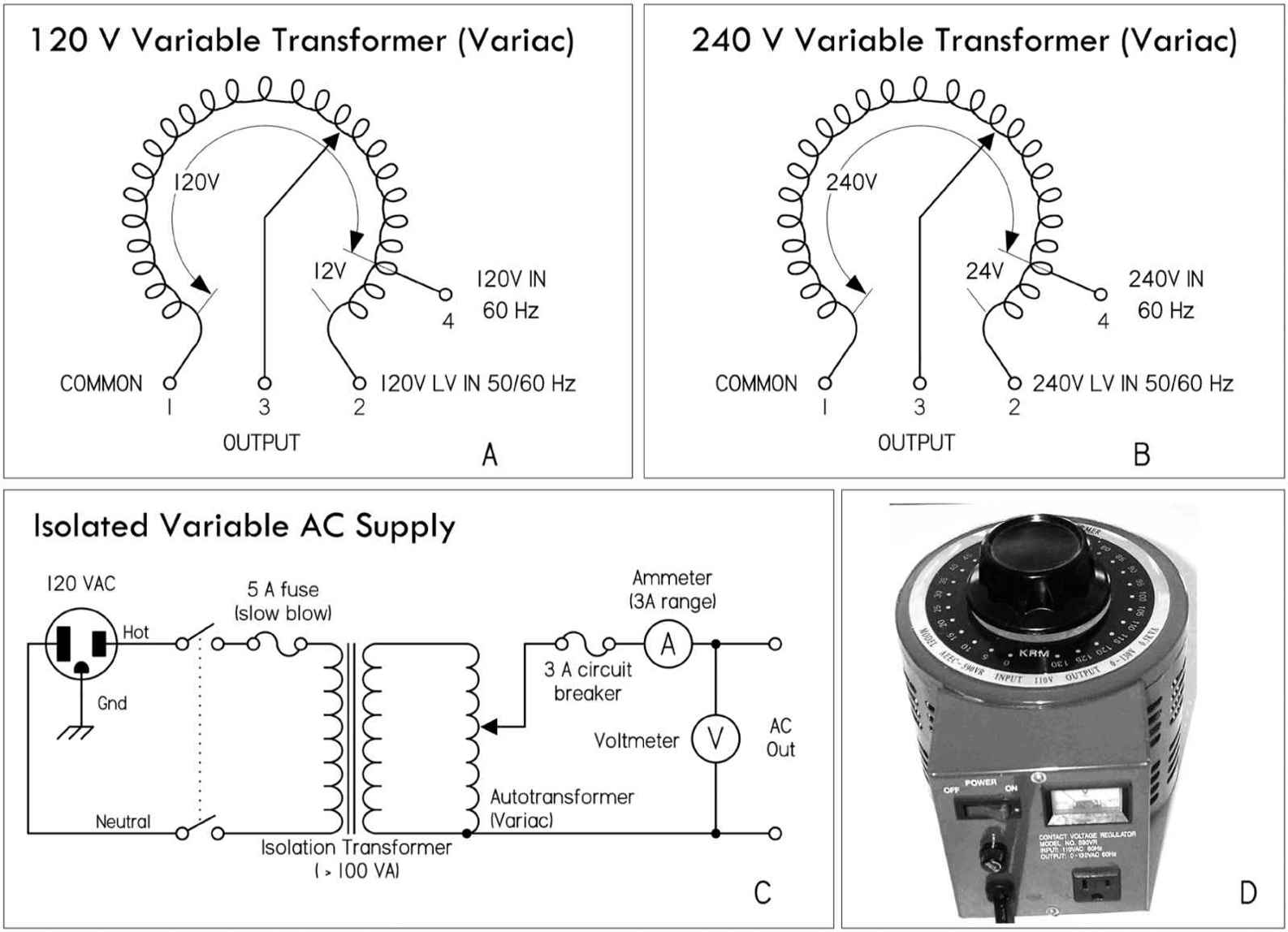 variac schematic symbol variable transformer financial accounting Clockwise Rotation Potentiometer Wiring  Transformer Types Vintage Variac Wiring A 15 KVA 277 to 208 Transformer Wiring Diagram