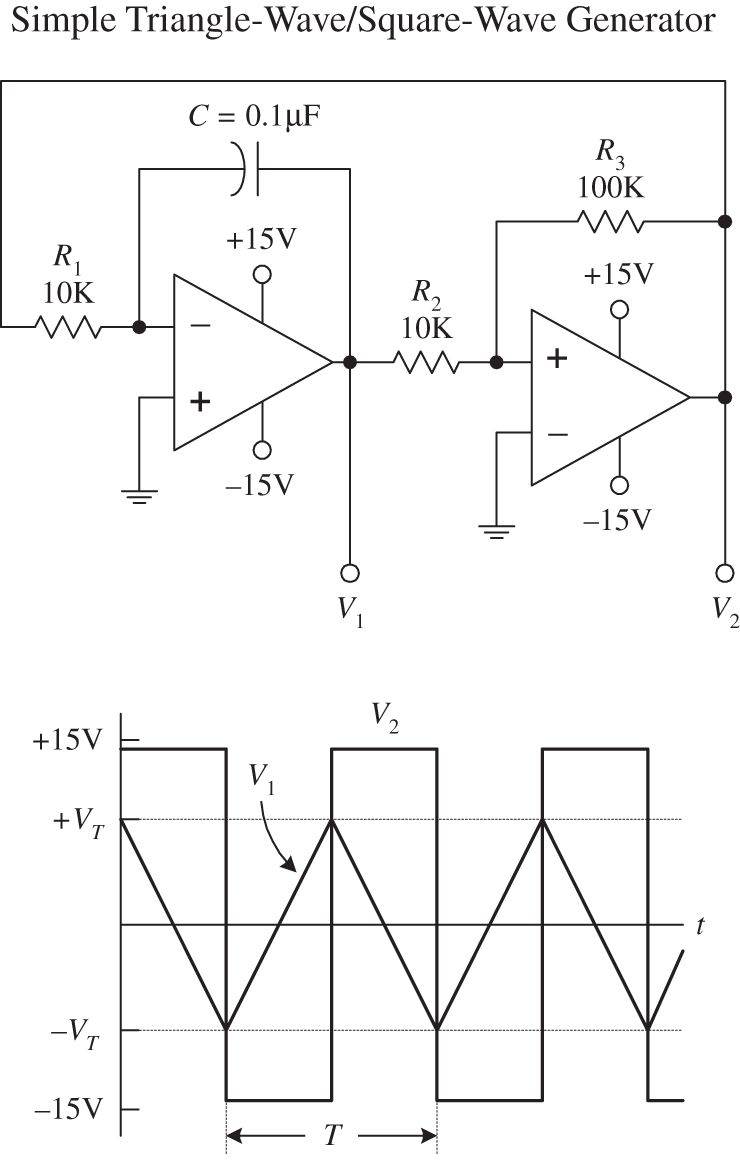 Oscillators And Timers Practical Electronics For Inventors Fourth 555 Timer Monostable Circuit Diagram Img