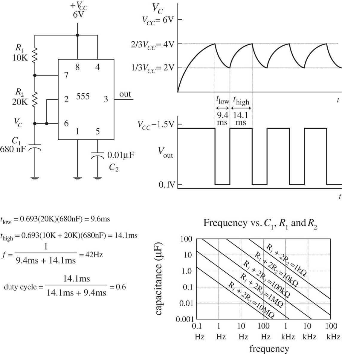 Oscillators And Timers Practical Electronics For Inventors Fourth 555 Triangle Waveform Generator Circuit Img