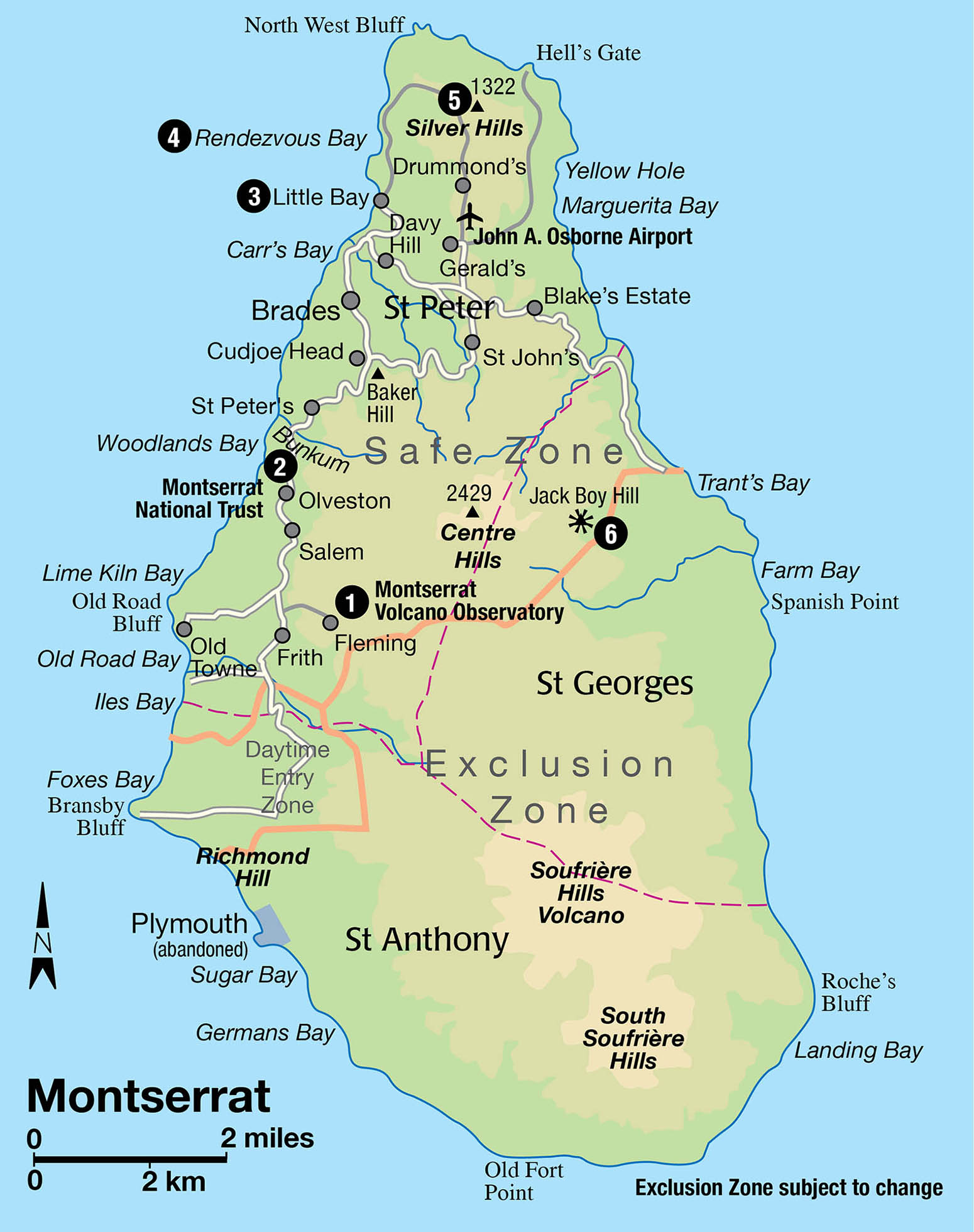MONTSERRAT Caribbean The Lesser Antilles Insight Guides