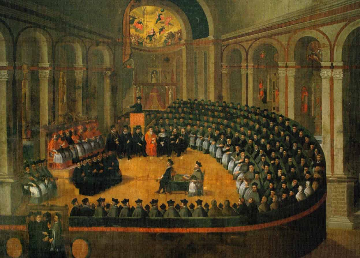 the council of trent The bull of indiction of the sacred oecumenical and general council of trent under the sovereign pontiff, paul iii session the first of the oecumenical and general council of trent decree touching the opening of the council.