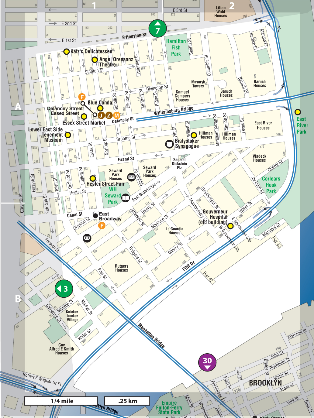 Lower East Side - Not For Tourists Guide to New York City ...