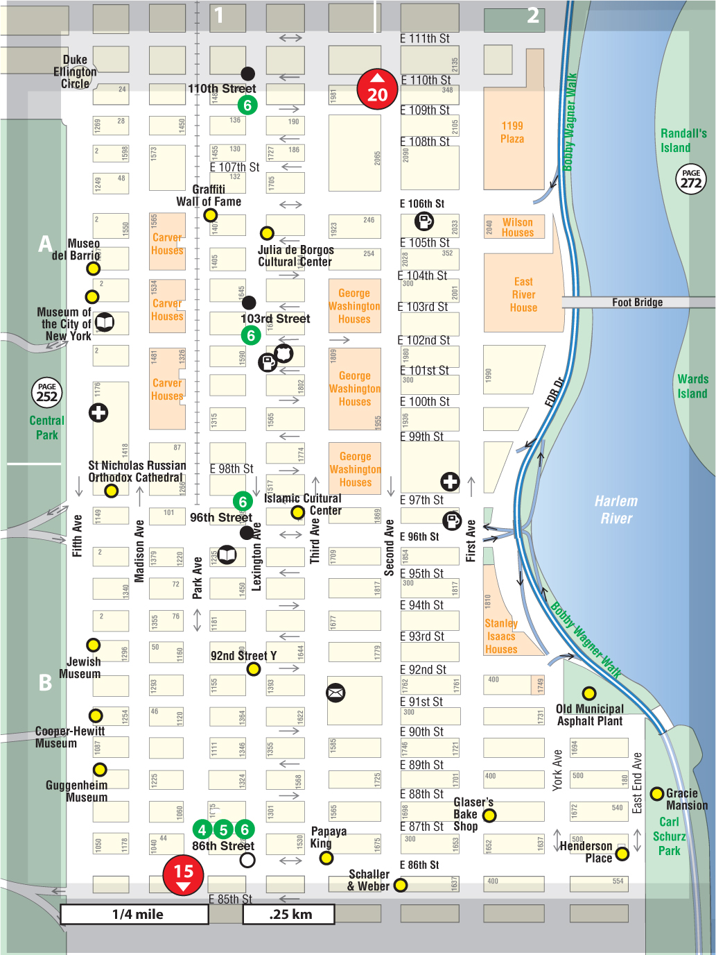 Printable Travel Maps Of New York Moon Travel Guides Where In New - New york map for tourists