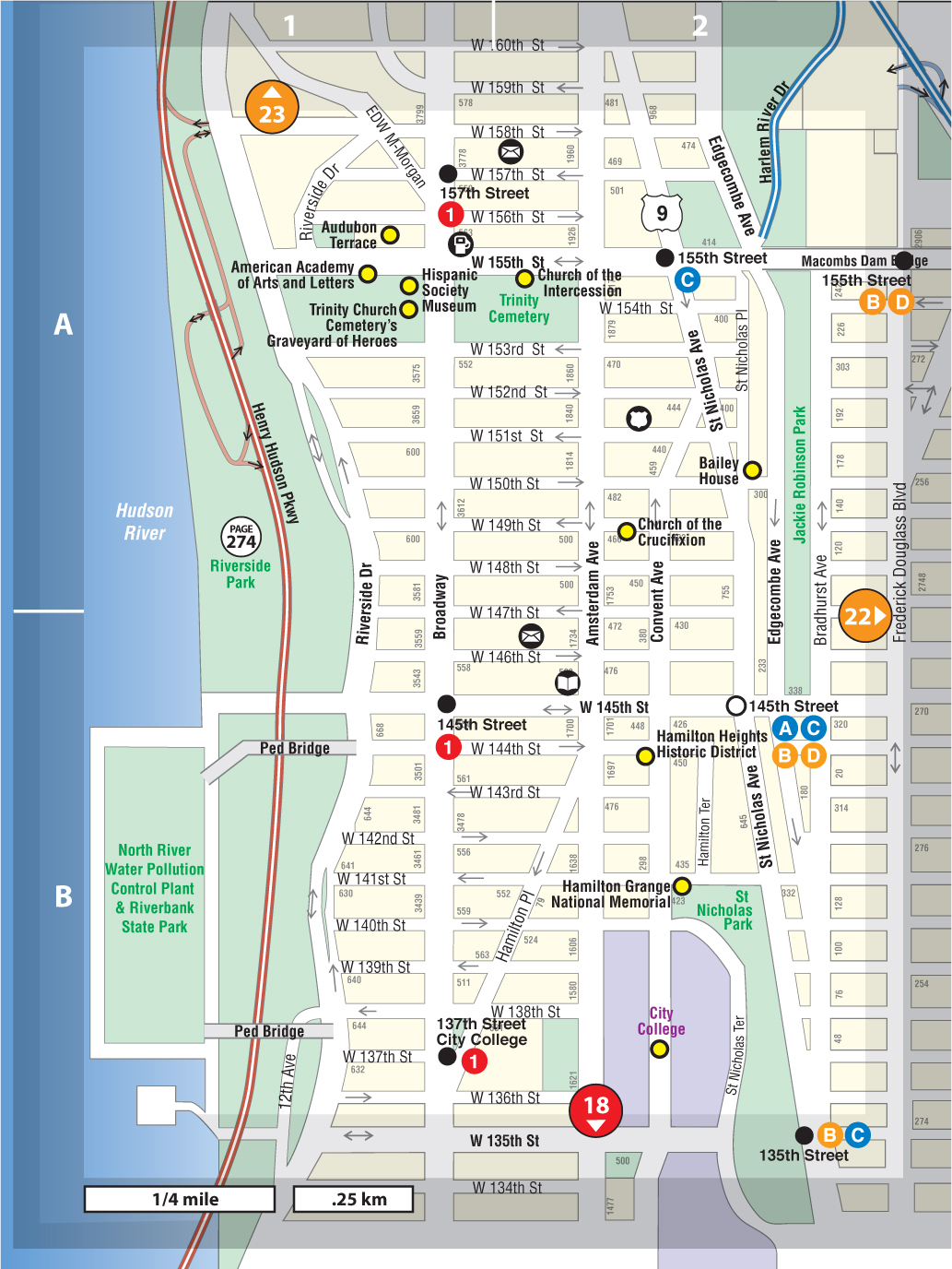 Manhattanville Campus Map.Manhattanville Hamilton Heights Not For Tourists Guide To New