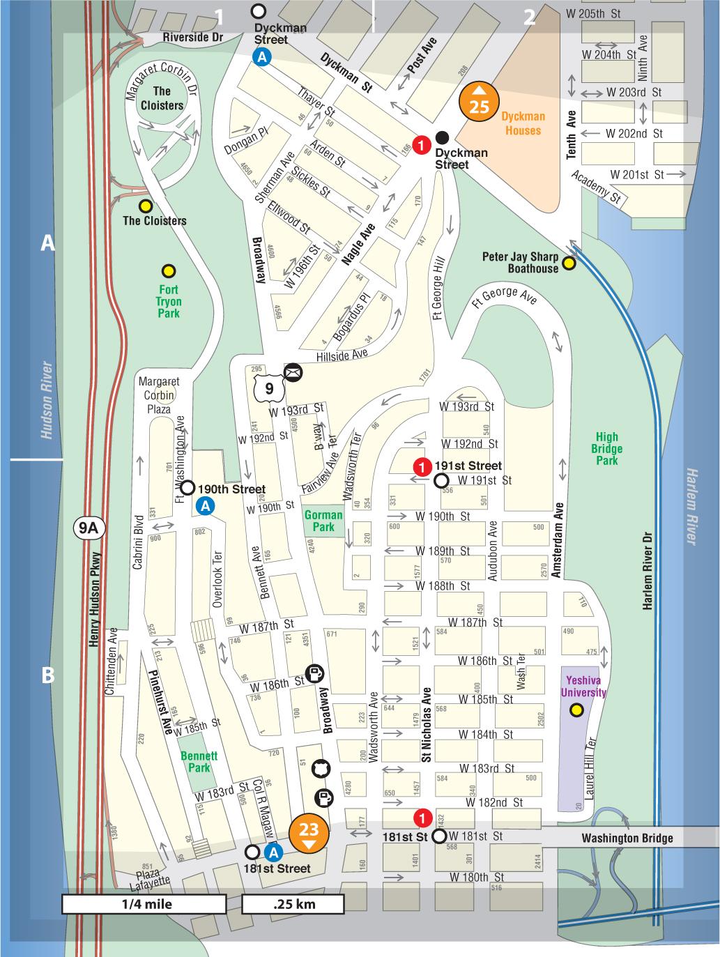 neighborhood overview image map 24