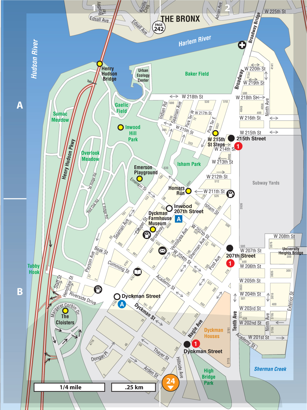 Inwood Not For Tourists Guide To New York City Not For
